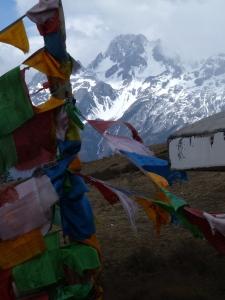 from the Tibetan Buddhist monastery