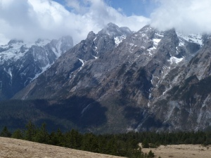 view from about 3800m
