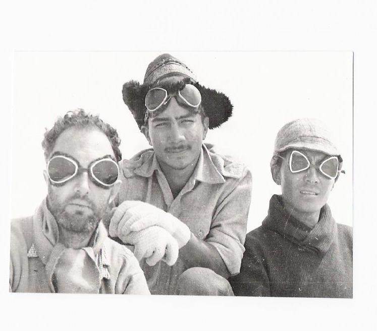 John Monro with Tenzing Norgay 1946