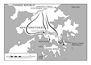 Battle of Hong Kong 1941