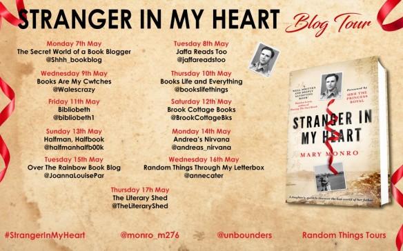 Stranger In My Heart blog tour