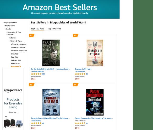 Amazon Bestseller Stranger In My Heart
