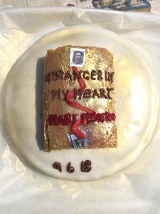 Birthday cake stranger in my heart