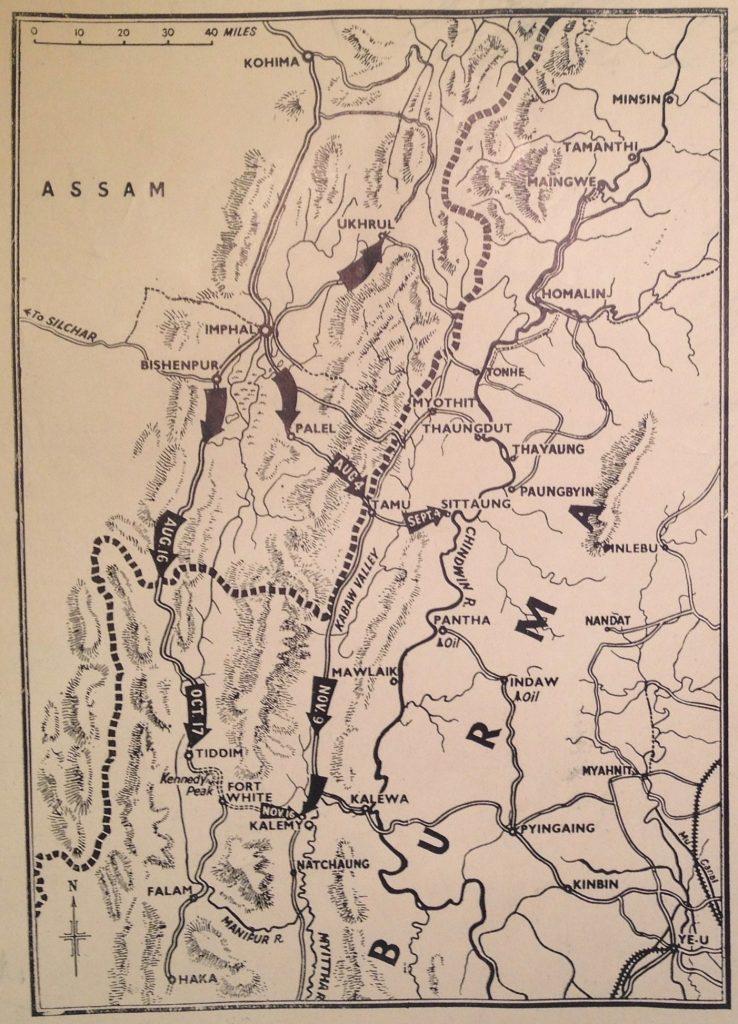 Burma 1944, Kohima - Kalemyo