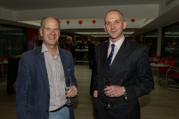 Cllr Shelford and Col Beaumont