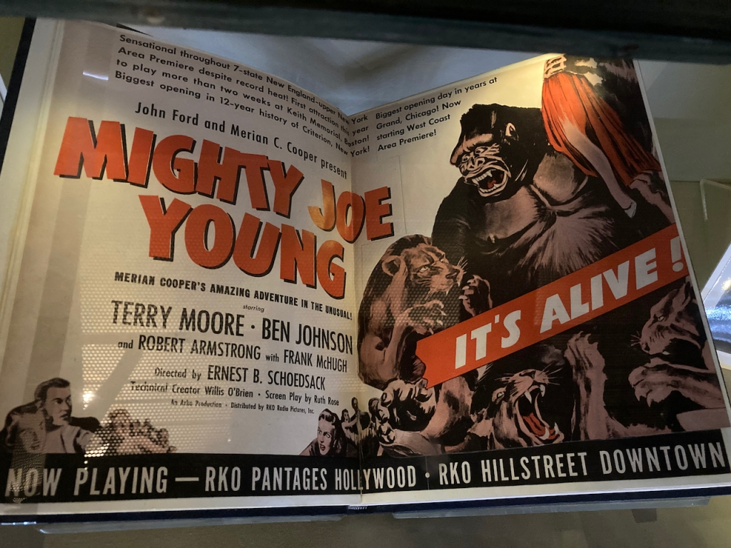 advertising poster for Mighty Joe Young (1949)